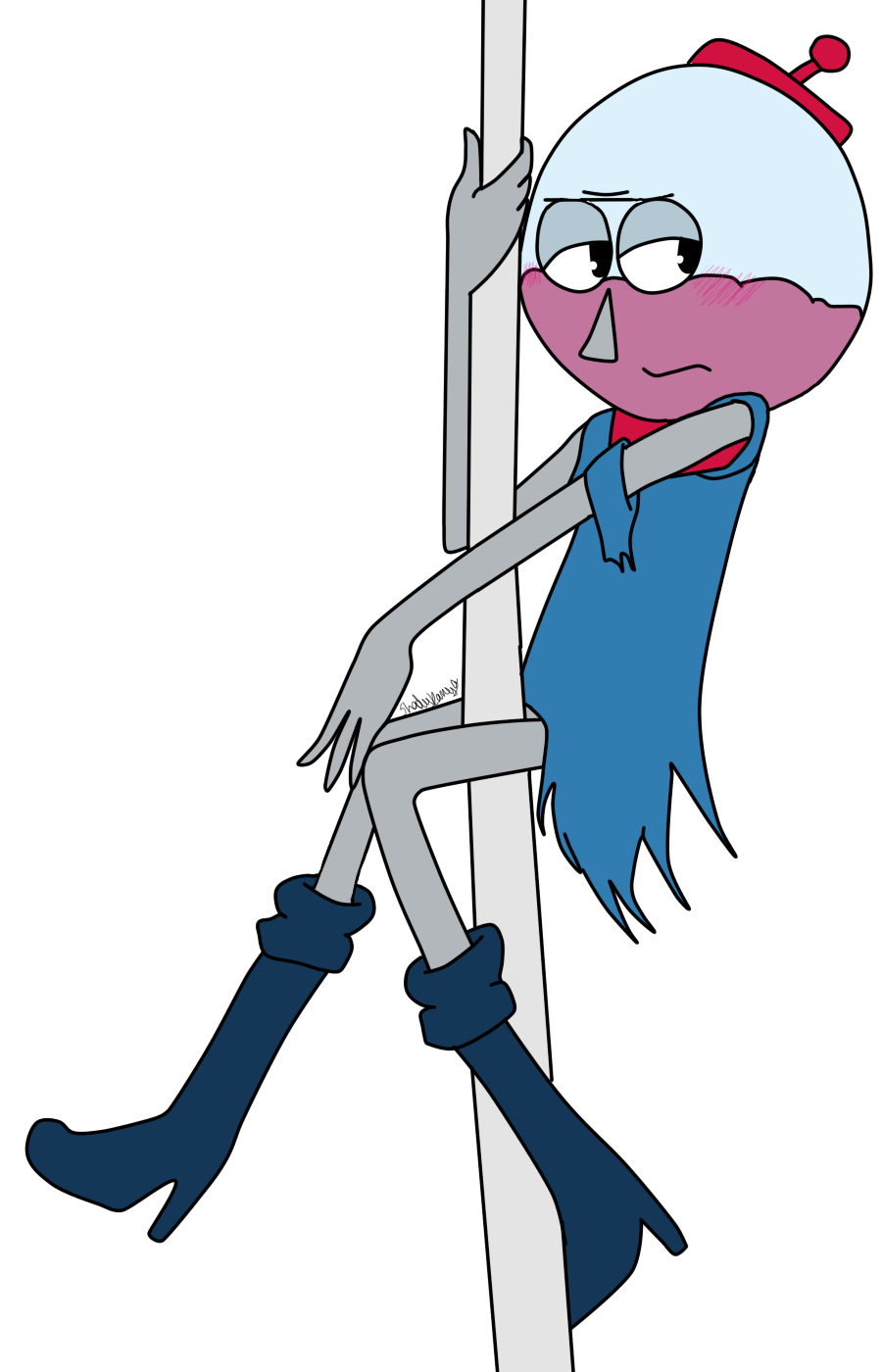 Stripper Benson by Shady-Kanya