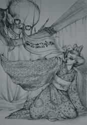 The Ghost of Koheiji by shojakka