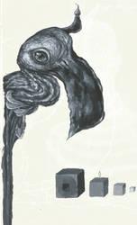 Strange Bird by shojakka
