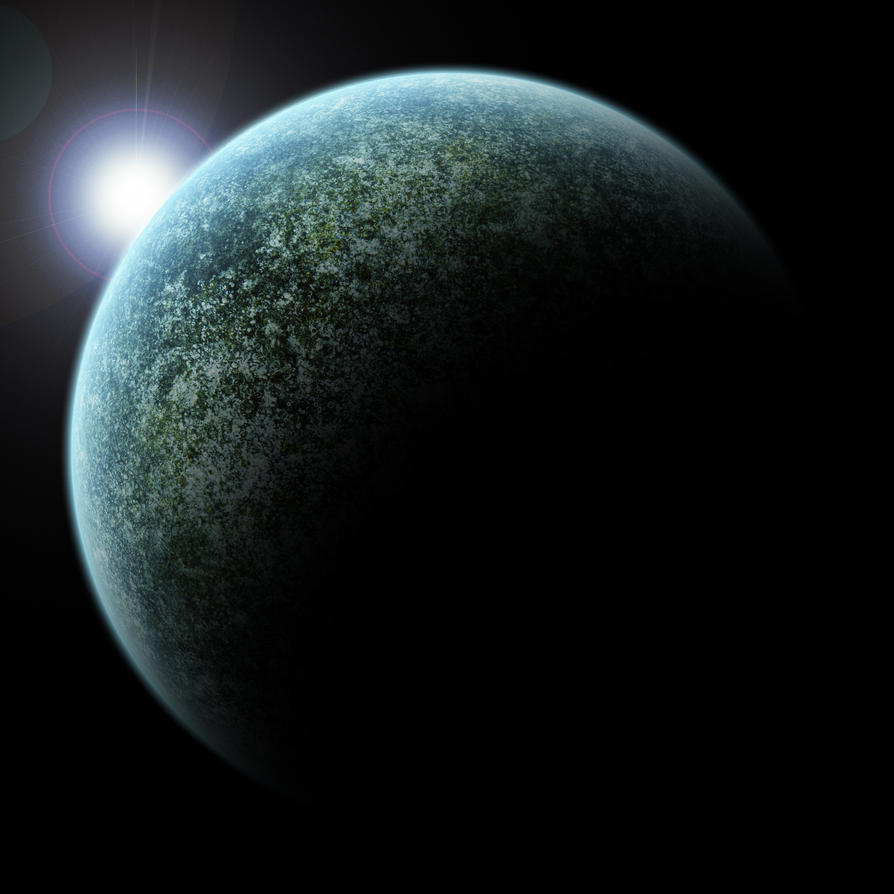 Rocky Planet by GalacticDeath on DeviantArt