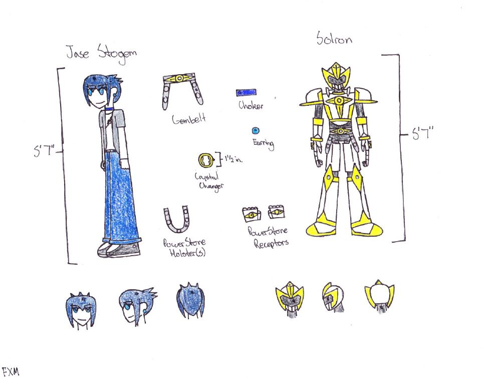 Jase Stogem (Crystal Knight Solron) by Dremare