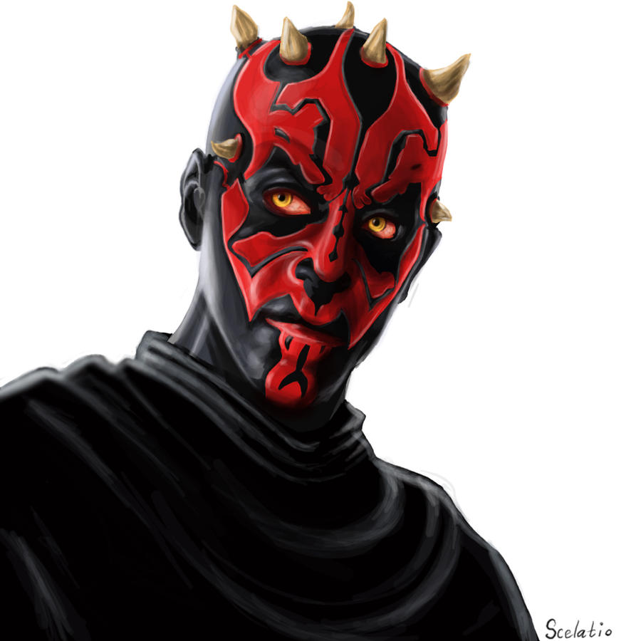 Darth Maul by Scelatio on DeviantArt