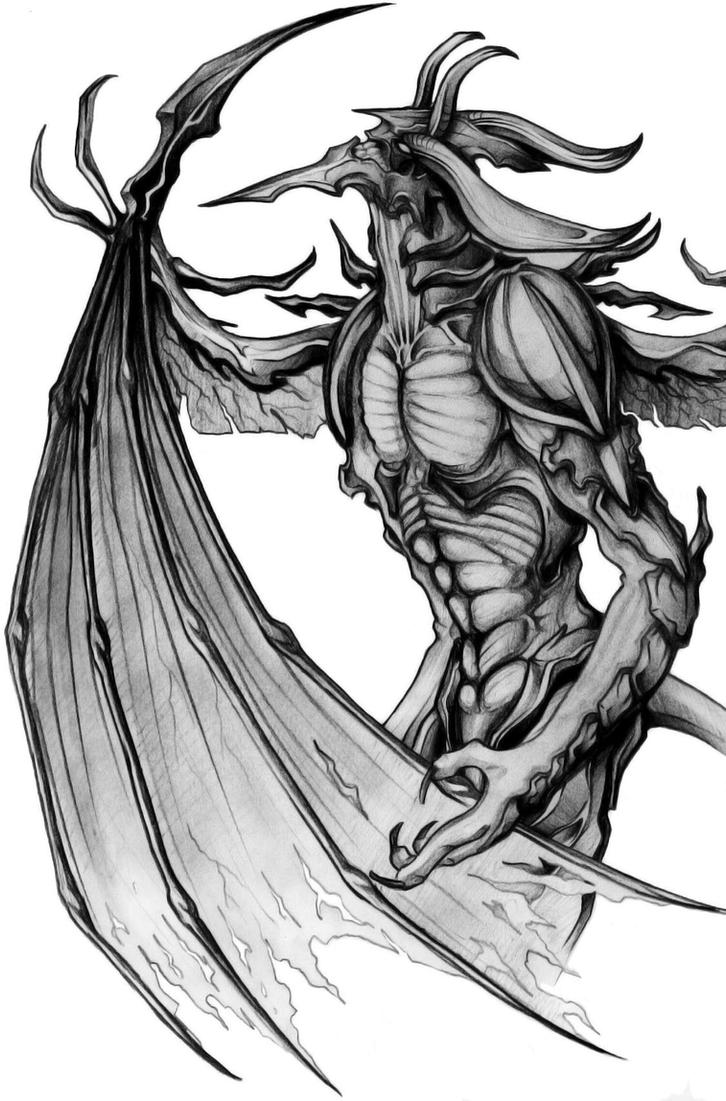 Final Fantasy VIII - Diablos by Scelatio