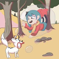 Hilda gets bubbled?!!! by JSenpaiDaNinja