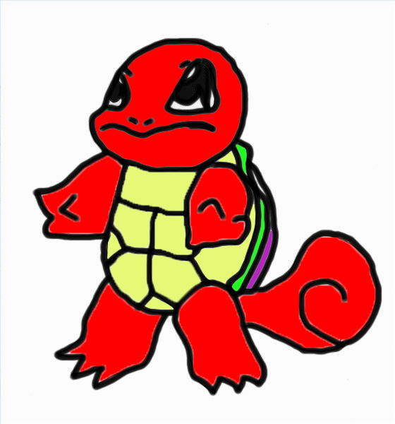 Squirtle Evolution Chain Red Squirtle by bbgun2...
