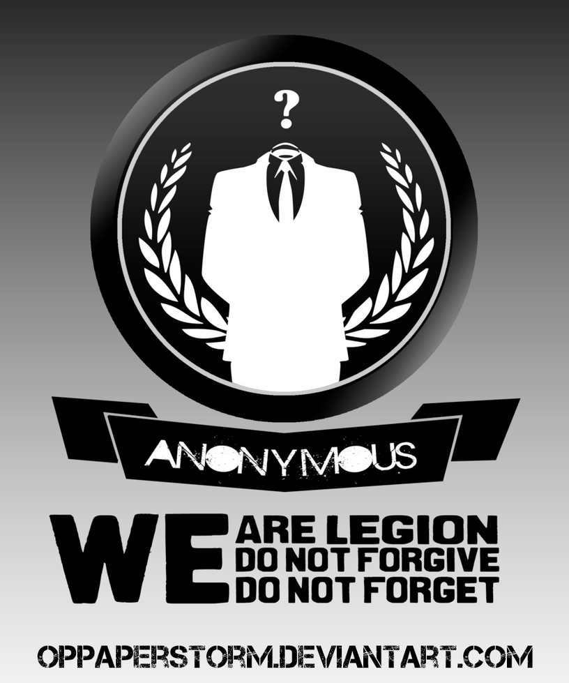 We Are Anonymous We Are Legion