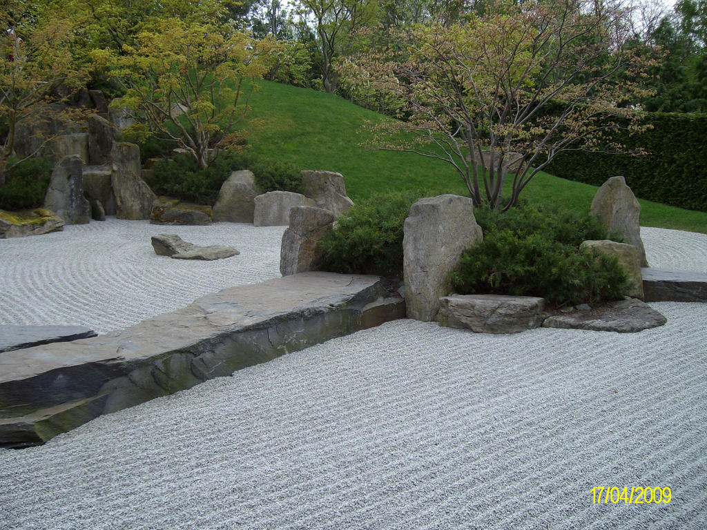 japanese stone garden by noirin stock on deviantart