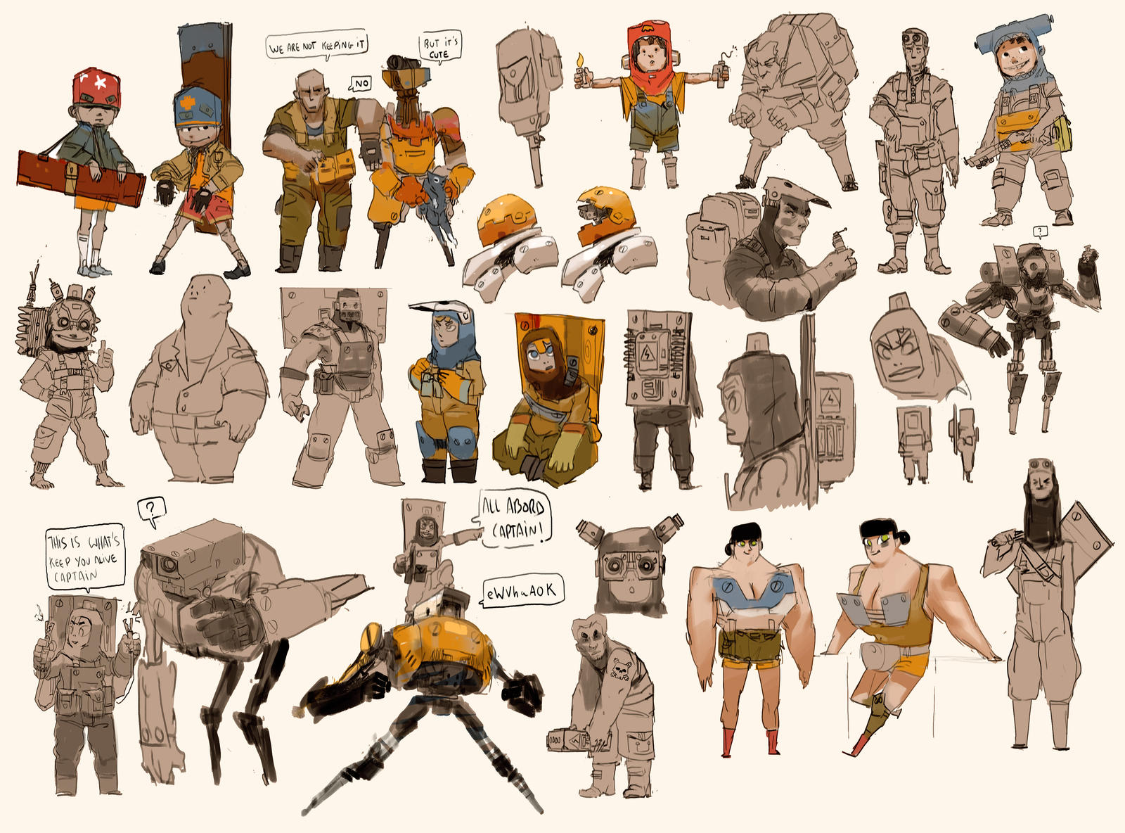 Zedig Character Design : Character research by zedig on deviantart