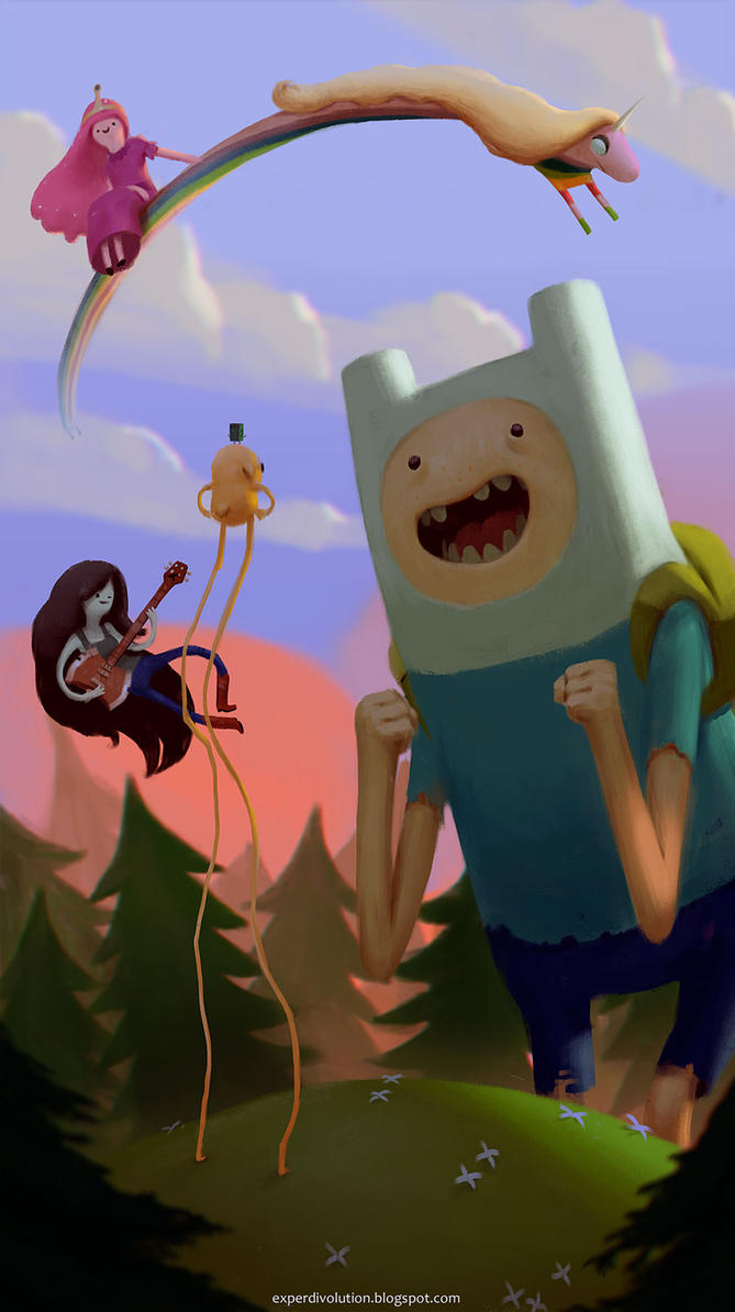 Adventure time Main by Zedig