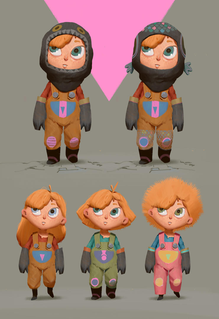 Zedig Character Design : Chara variation by zedig on deviantart