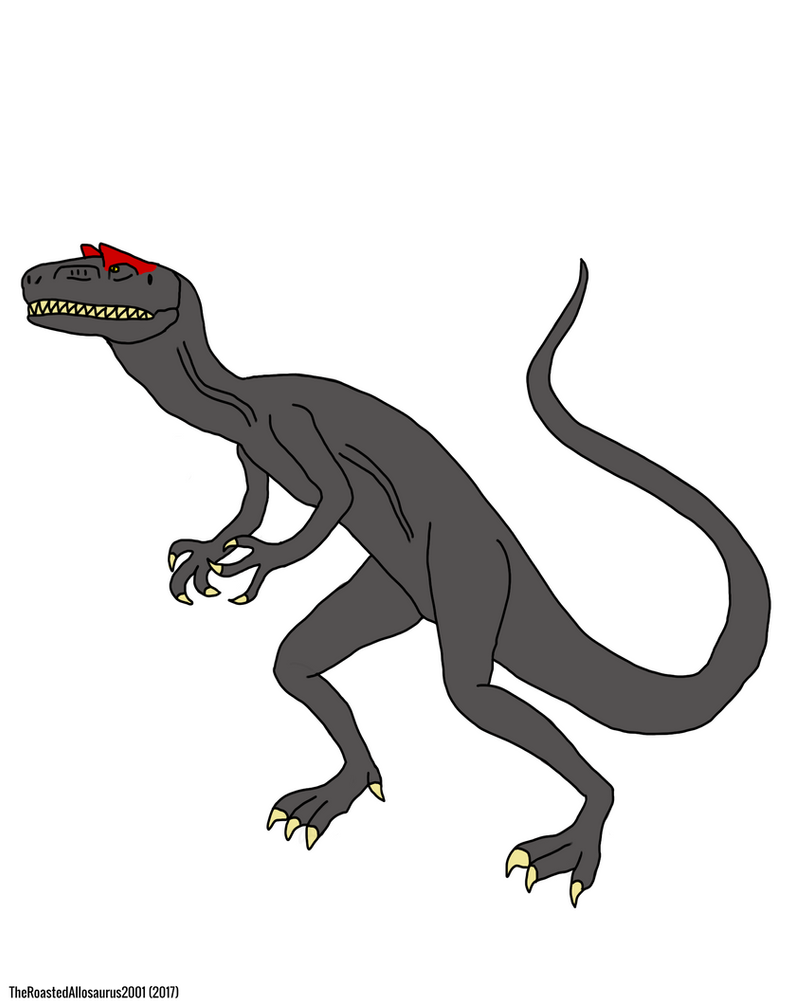 Buddy The Allosaurus by HKnx
