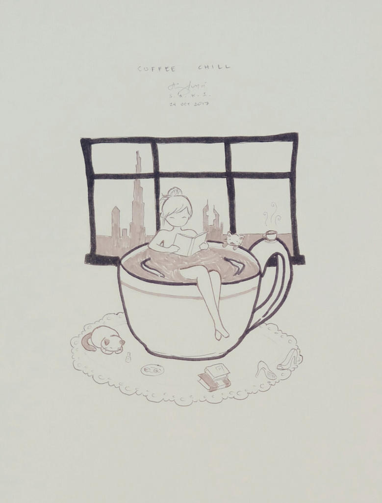Coffee Chill by sakijane