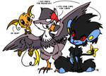 Luxray PWNED By Staraptor