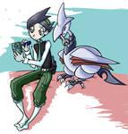 Nejiki and his Fat Birdy