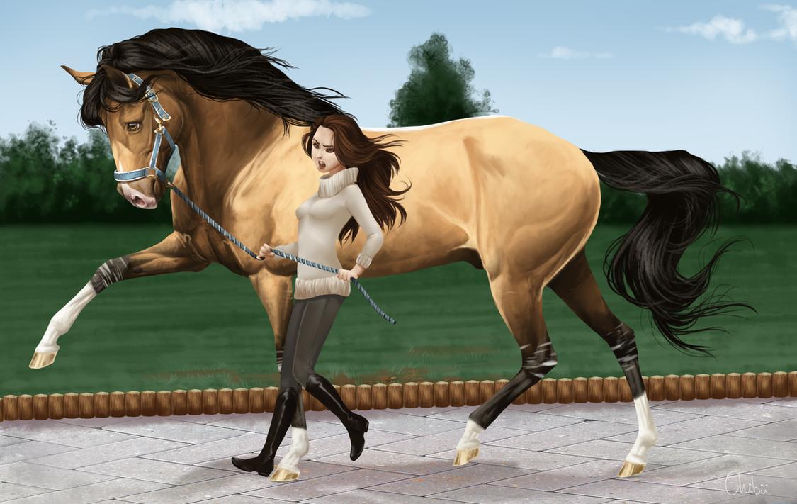 Видео сексдевушки с конём утречка