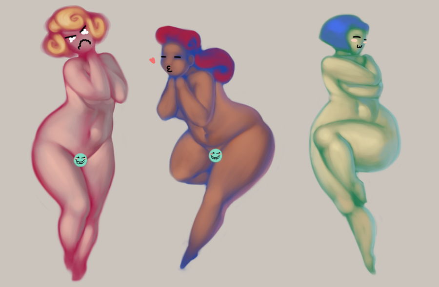 Fatty Boom Boom - Skin and color practice by BH-Stables
