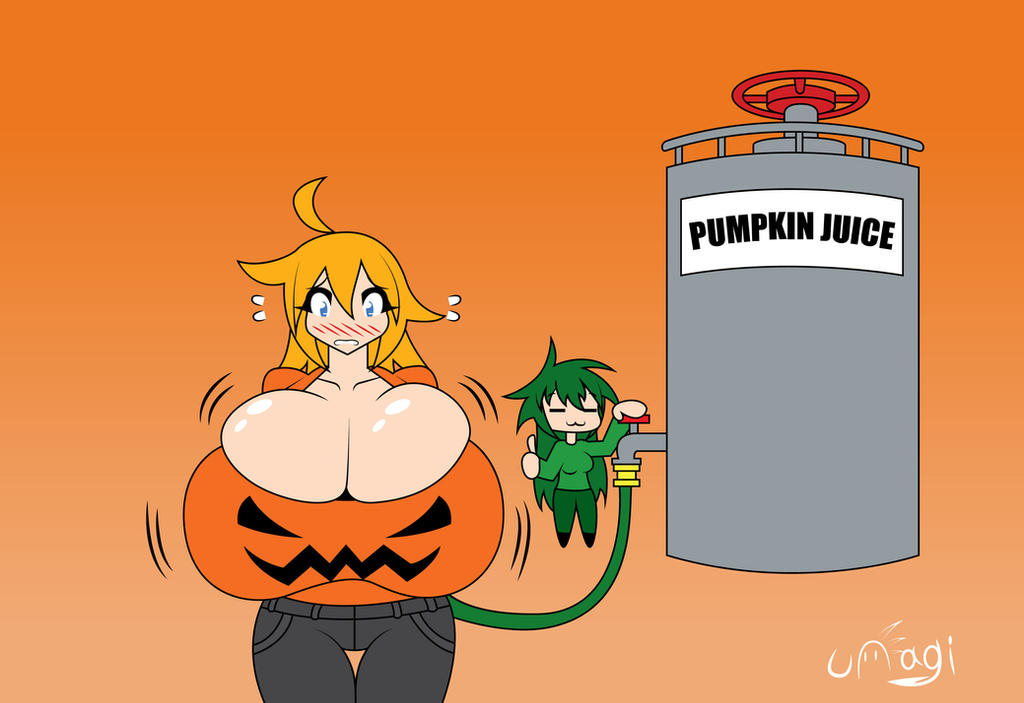 Even boobs are pumpkin spice flavored these days by UnagiTakanashi