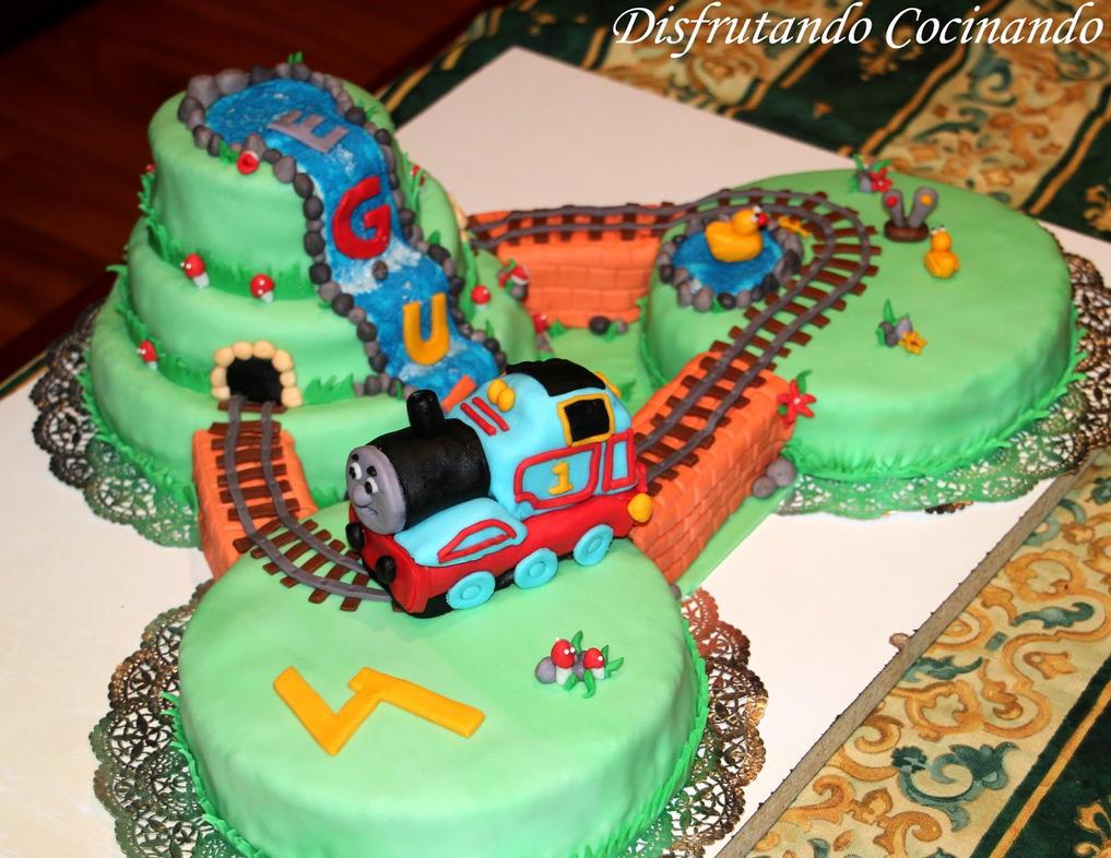 Thomas Train Cake Pictures Thomas Train Cake by
