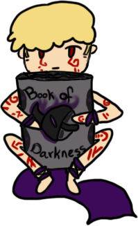 Book of Darkness by ashestothewind