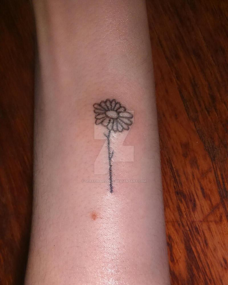 95b9bb6ef Daisy tattoo by SerafinaLluvia on DeviantArt
