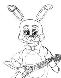Toy Bonnie from Five Nights At Freddy's 2.