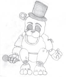 Golden Freddy from Five Nights At Freddy's