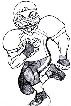 Random football player
