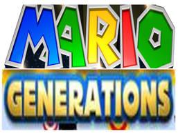 Mario Generations logo