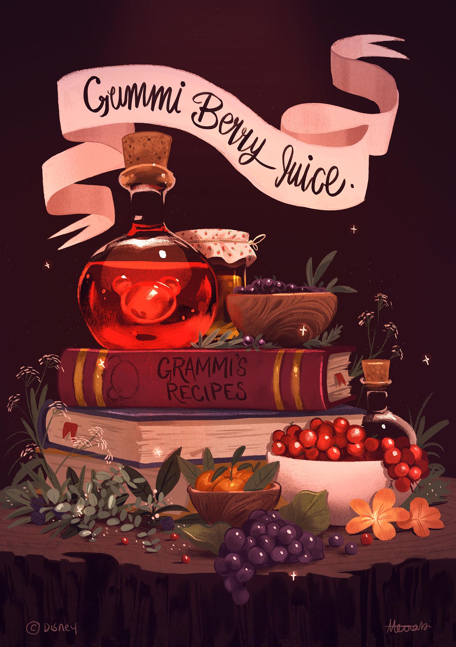 Gummi Berry Juice