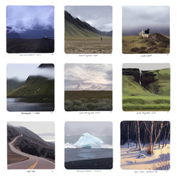 Landscape Studies- Collection 3