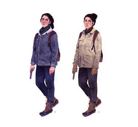 TLOU2: Dina winter costuming