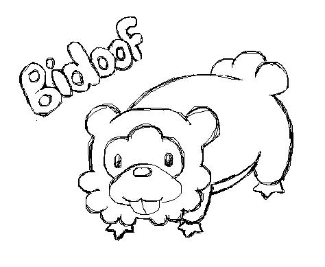 Bidoof The Bestest Pokemon Eva 128310705