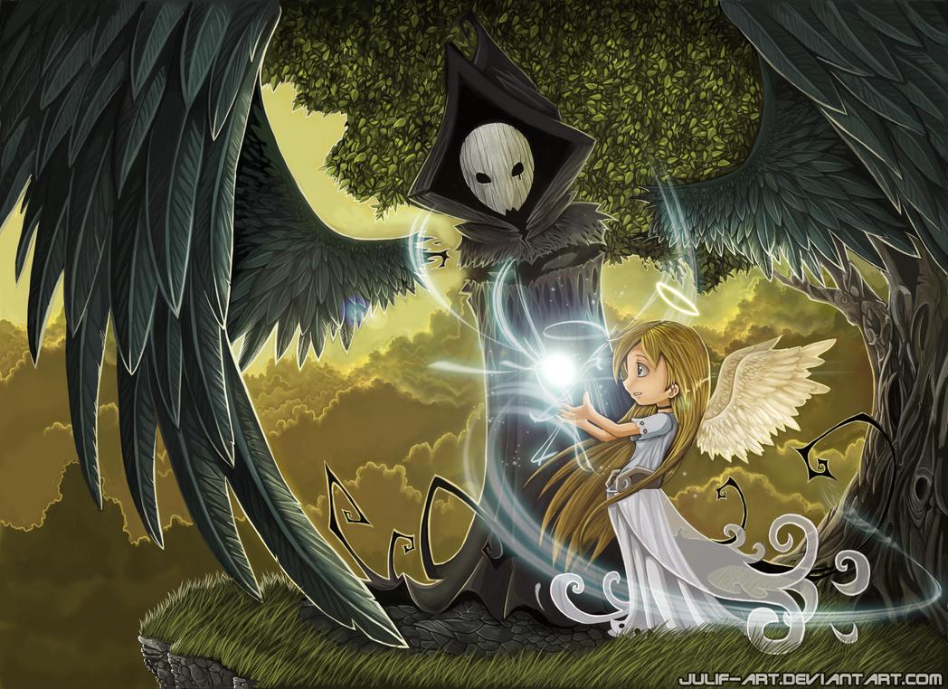 angel y muerte 2012 by julif-art