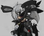 bunny and nero chibi