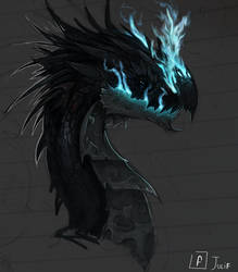 another dragon by julif-art