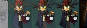 Wirt progress by julif-art