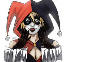 Harley quinn by julif-art