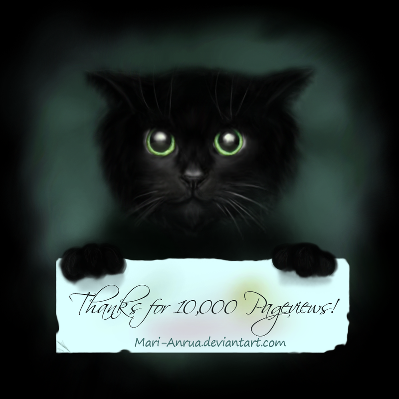 10, 000 Pageviews! Cat. by MariAnrua