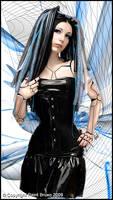 Cyber Woman by PaintBruxo