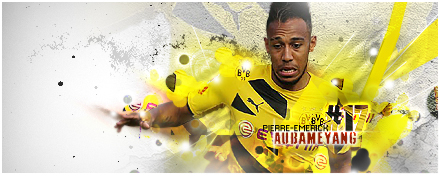 Lloniix is here Pierre_emerick_aubameyang_by_southpromise-d8e8eyv