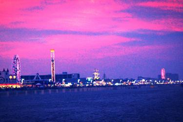 Ocean City NJ Skyline by truecolor101