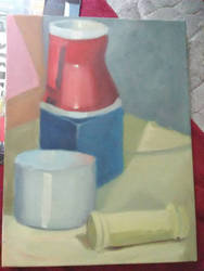 Still Life Oil Painting by PinkLemonSquish
