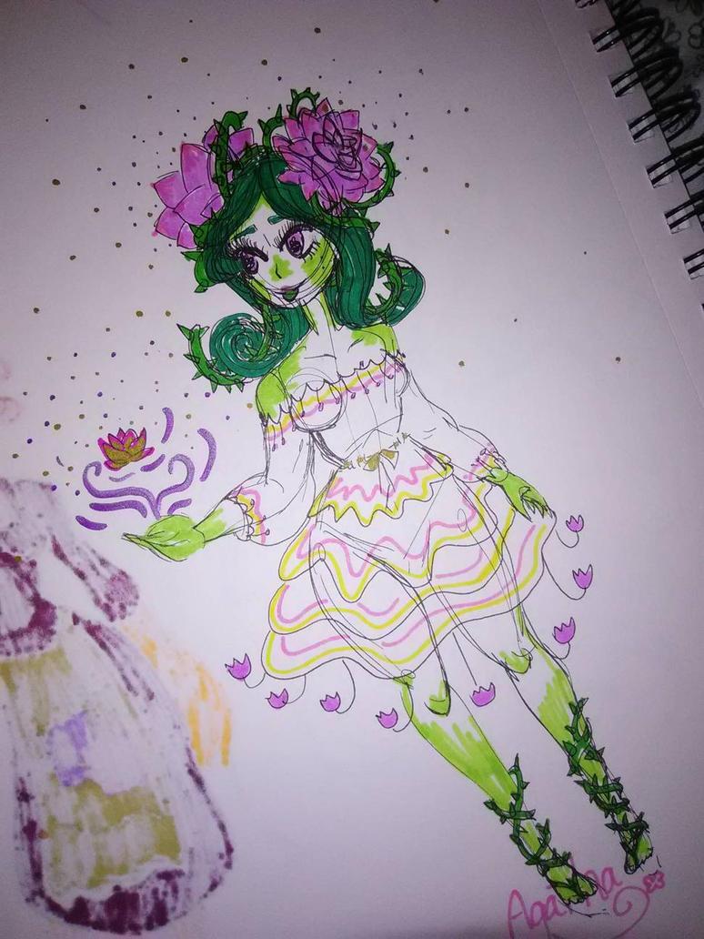 Agatha by PinkLemonSquish