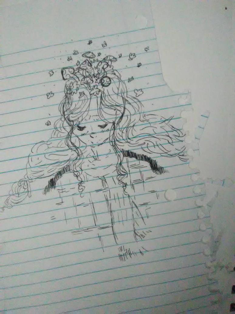 Magic Mushroom (Wise Woman) by PinkLemonSquish