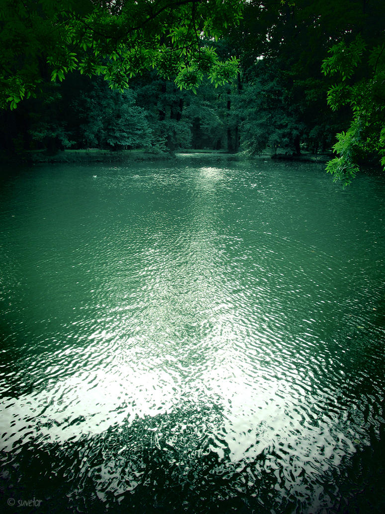Green waters by Suvetar