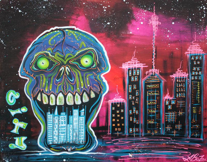City of Strange by barbosaart