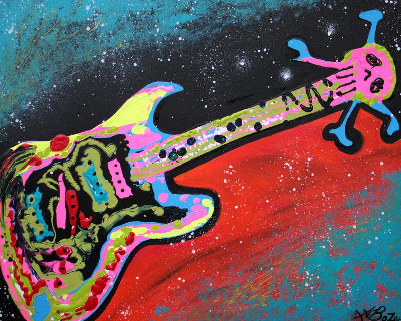 Space Guitar by barbosaart