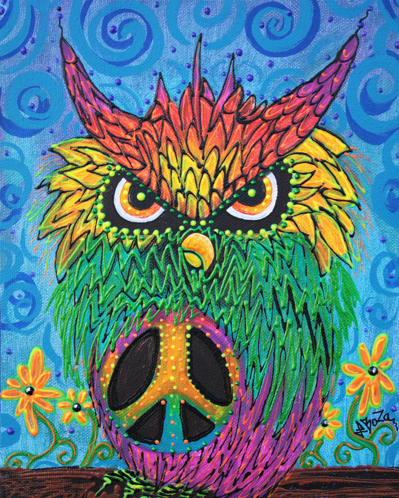 The Hush Owl by barbosaart