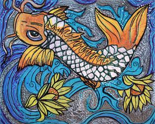 Glitter Fish by barbosaart