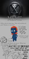 X-Men FC Meme - Raven